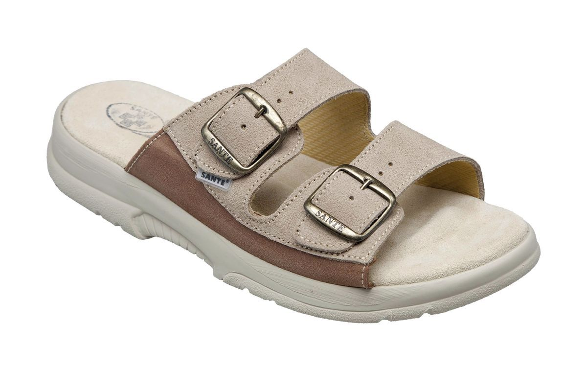 Zdravotní obuv SANTÉ pantofle dámské N/517/33/88/CP černé Sante SANTÉ - zdravotní obuv s.r.o.
