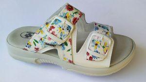 Zdravotní obuv SANTÉ pantofle dámské N/517/55/13K/10 flowers
