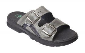 Zdravotní obuv SANTÉ pantofle N/517/32S/90/CP ANTRACIT
